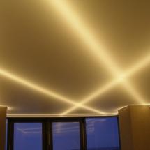 Фото от Михаила - светодиодные ленты за натяжным потолком - от Михаила